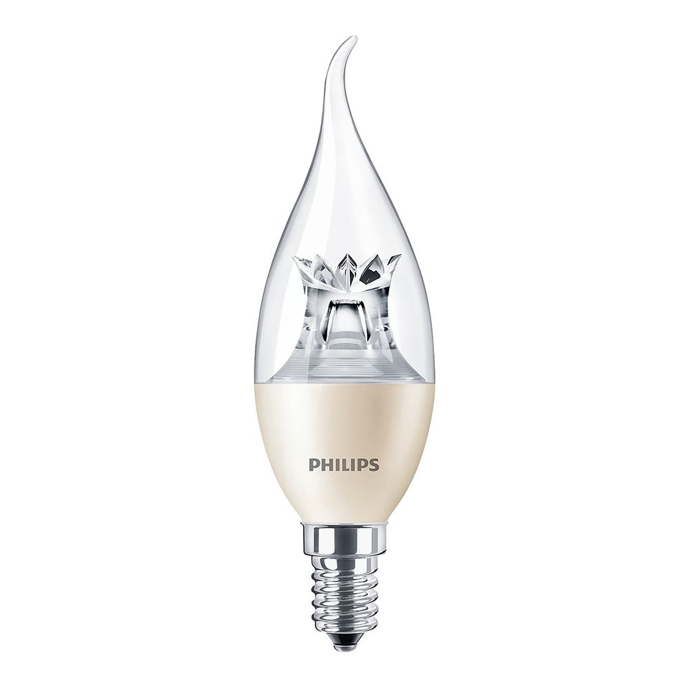 Philips LEDcandle E14 BA38 4W 827 (MASTER) | DimTone Dimmable - Replaces 25W
