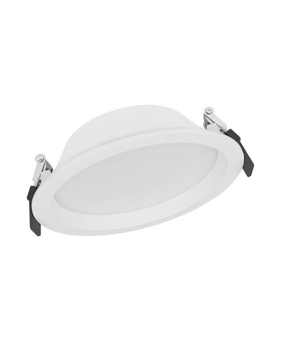 Ledvance LED Downlight Aluminum DN150 14W 830 IP44 | Warm Wit - Vervangt 1x26W