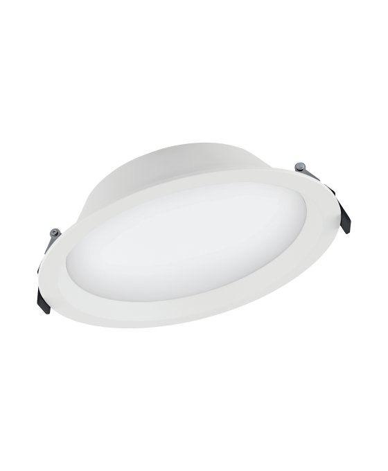 Ledvance LED Downlight Aluminum DN200 35W 840 IP44 | Koel Wit - Dali Dimbaar - Vervangt 2x42W