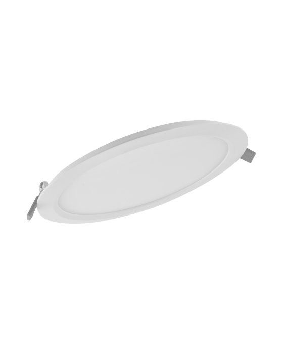 Ledvance LED Downlight Slim Round DN210 18W 830 IP20 | Vervangt 2x18W