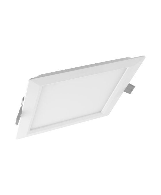Ledvance Downlight LED Slim Square SQ155 12W 865 IP20 | Lumière du Jour - Substitut 2x18W