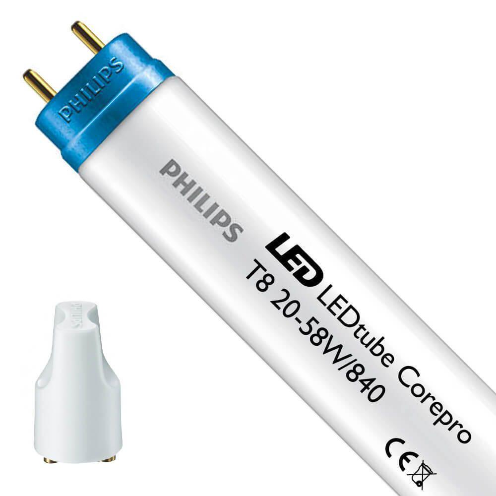 Philips CorePro LEDtube EM 20W 840 150cm | Kaltweiß - inkl. LED Starter - Ersetzt 58W