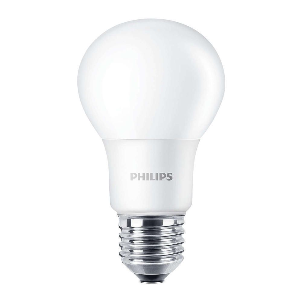 Philips CorePro LEDbulb E27 A60 8W 827 Mat | Vervangt 60W