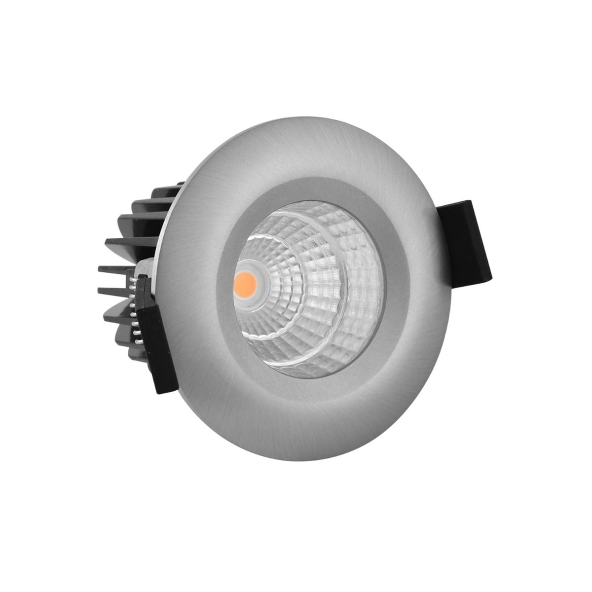 Noxion LED Spot Forseti IP44 2700K Aluminium 6W | Best Colour Rendering - Dimmable