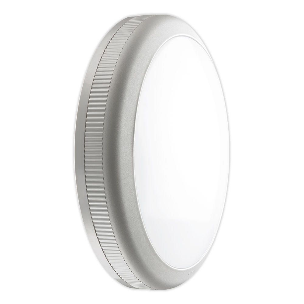 Noxion LED Bulkhead Core 840 20W Grey | Replaces 2x26W