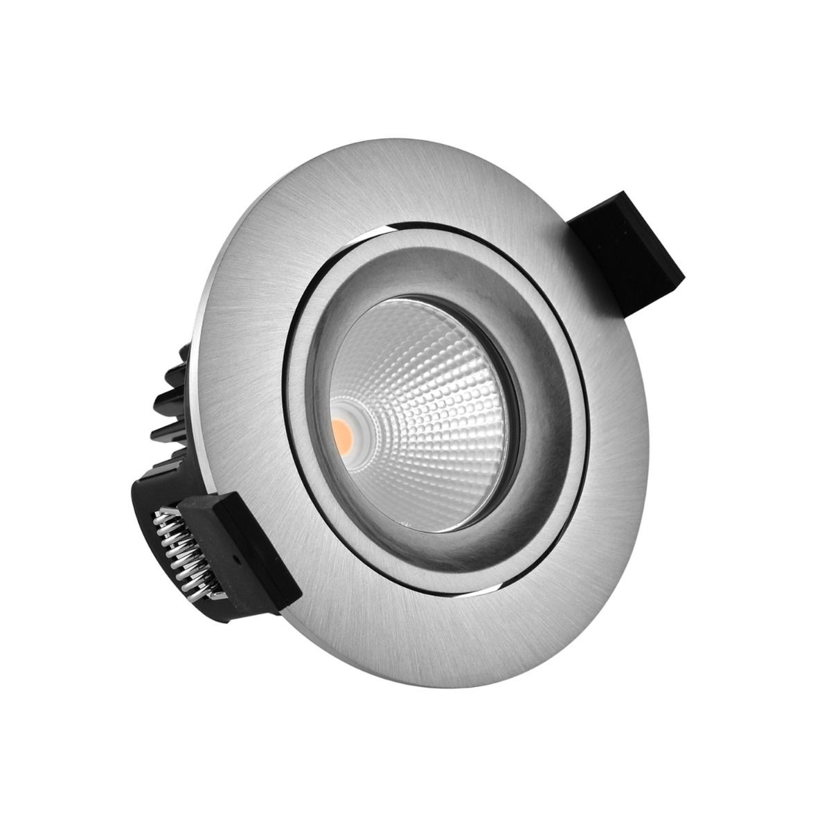 Noxion LED-Spot Hydro IP65 Fireproof Aluminium 2700K 6W | Höchste Farbwiedergabe - Dimmbar