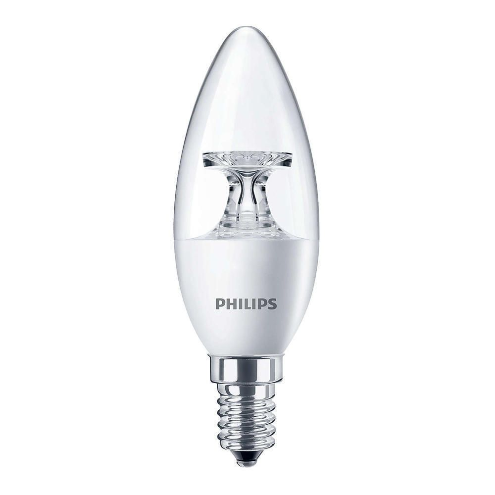 Philips CorePro LEDcandle E14 B35 4W 827 Clear | Replaces 25W
