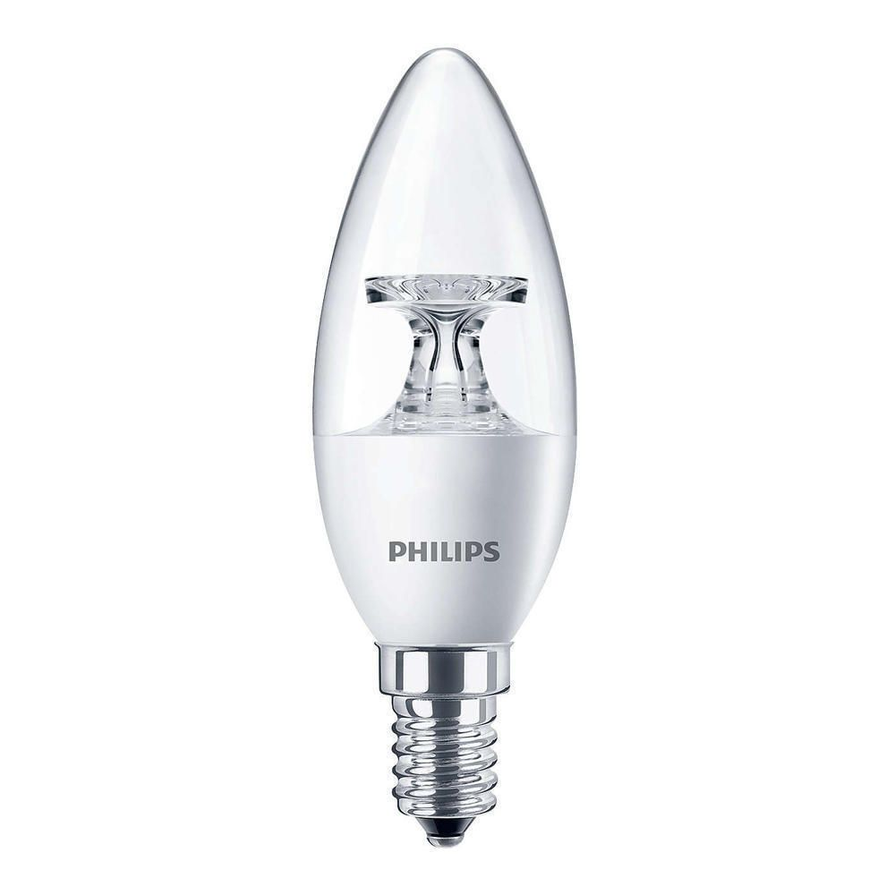 Philips CorePro LEDcandle E14 B35 5.5W 827 Clear | Replaces 40W