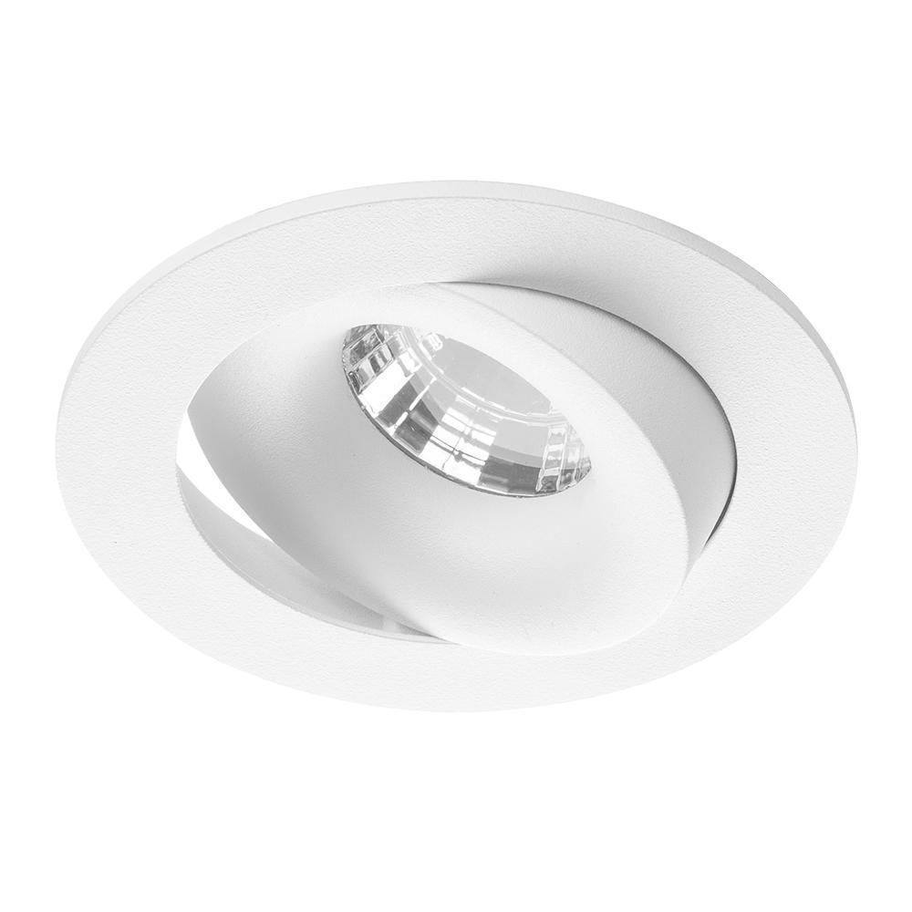 Noxion Spot LED Leda IP44 Blanc 2700K 6W | Dimmable