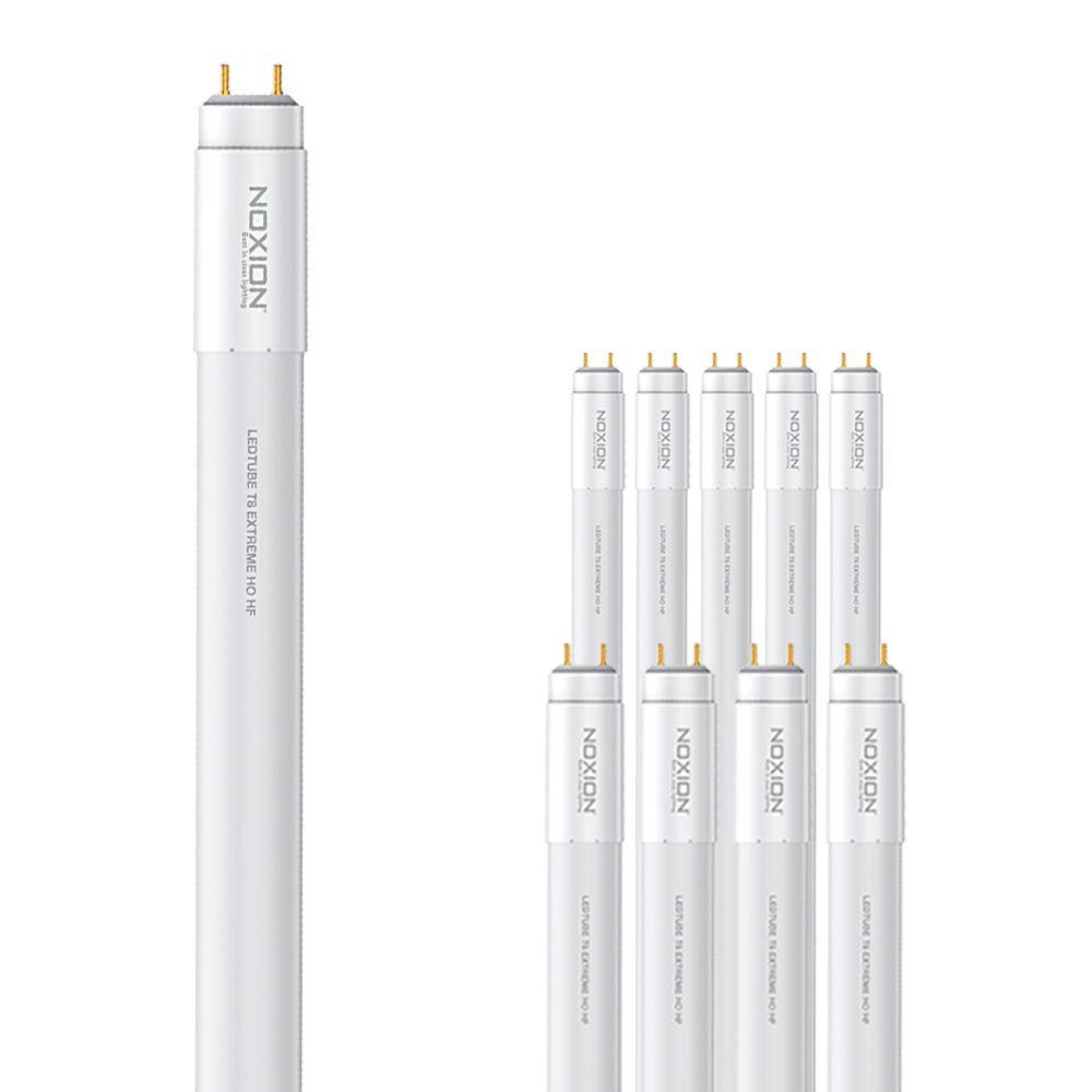 Multipack 10x Noxion Avant LEDtube T8 Extreme HO HF 150cm 20W 830 | LED Starter incl. - Replacer for 58W