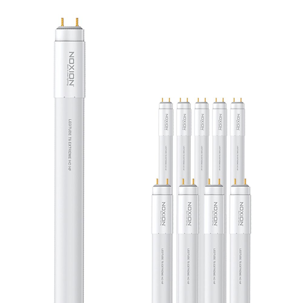 Flerpack 10x Noxion Avant LEDtube T8 Extreme HO HF 150cm 20W 840 | Kallvit - LED Glimtändare inkl. - Ersättare 58W