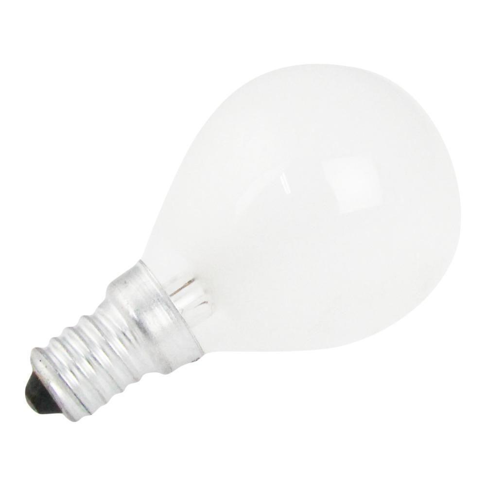 Klotlampa E14 60W 230V Frostad