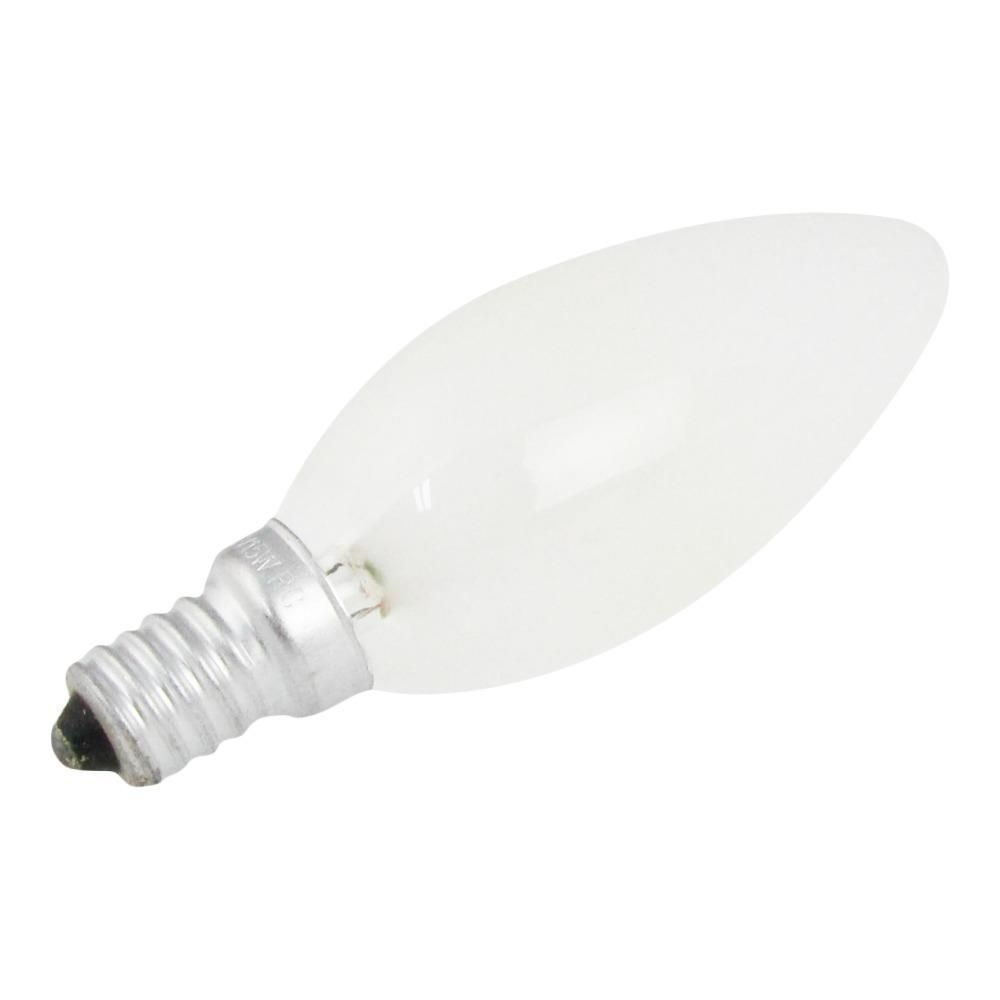 Candle E14 40W 230V Frosted