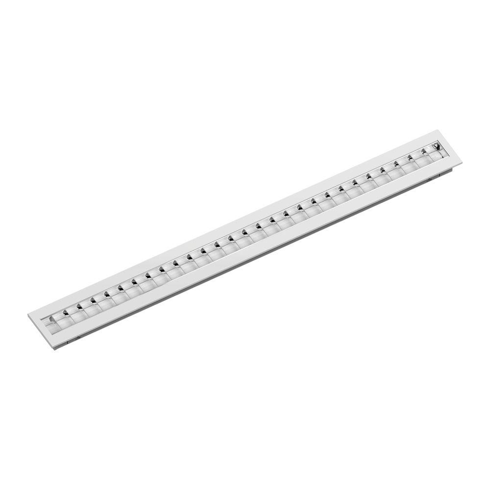 Noxion Panneau LED Louvre Excell G2 15x150cm 3000K 38W UGR<15 Gloss Réflecteur | Blanc Chaud - Dali Dimmable - Substitut 1x49W