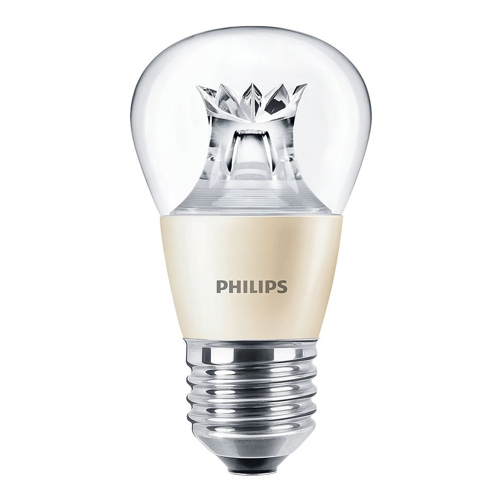Philips LEDluster E27 P48 4W 827 Clear (MASTER) | DimTone Dimmable - Replaces 25W