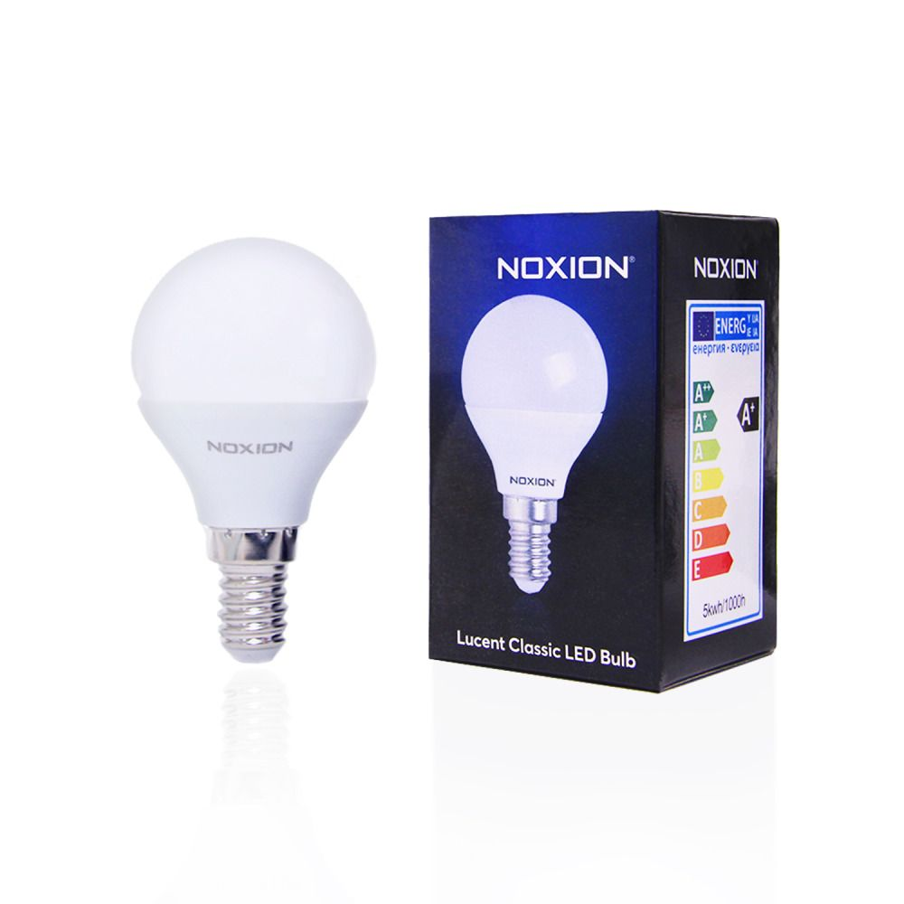 Noxion Lucent Classic LED Lustre P45 E14 5W 827 | Extra Warmweiß - Ersetzt 40W