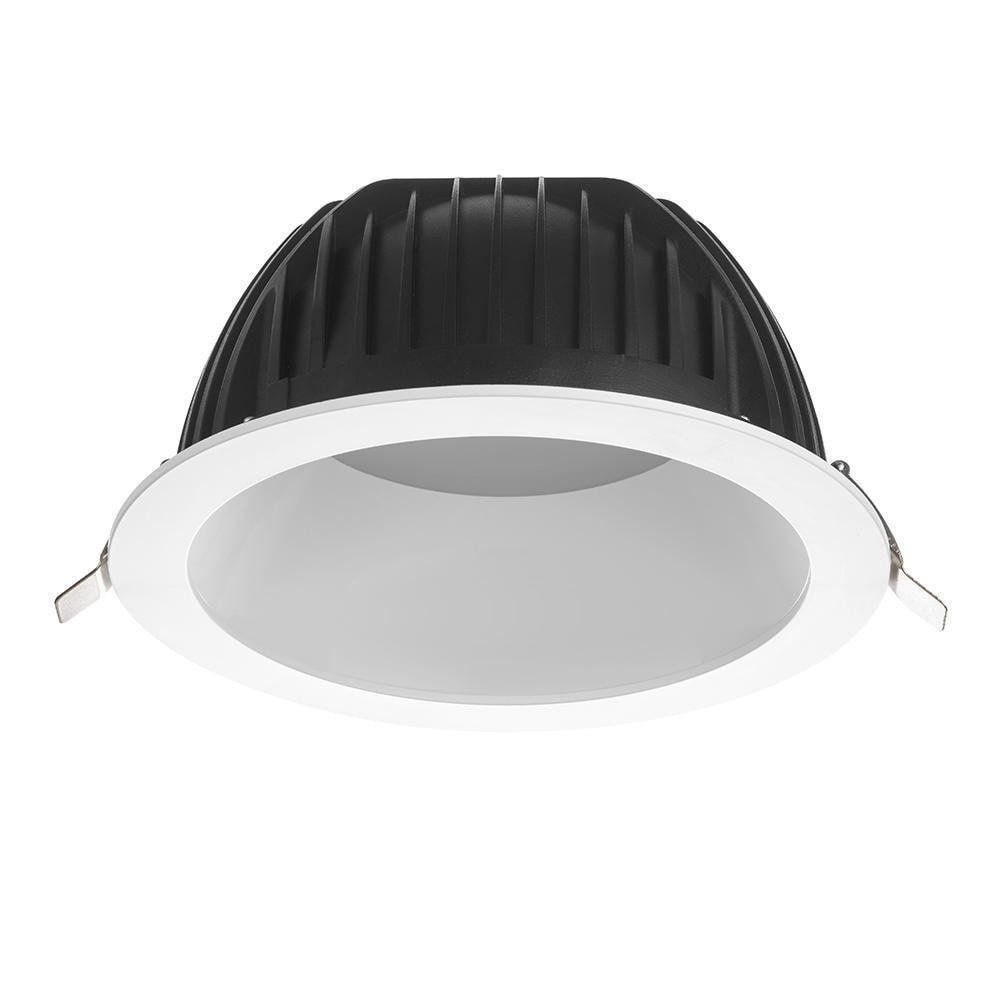 Noxion LED downlight Opto IP40 3000K 2200lm Ø200mm