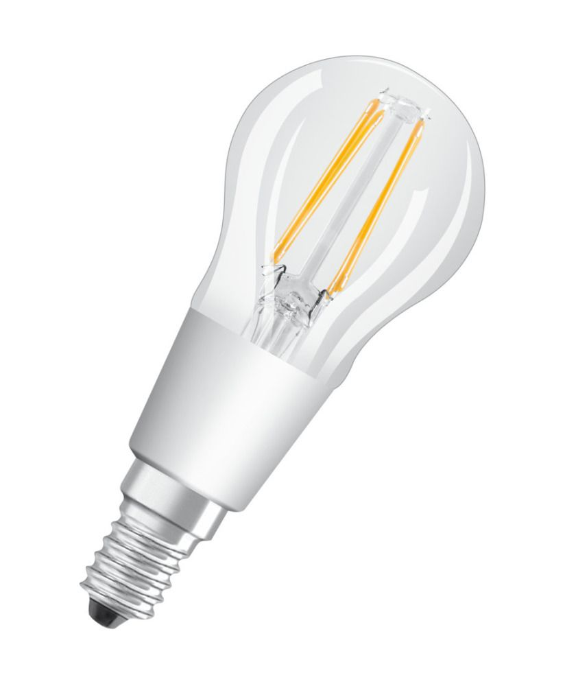 Osram Parathom Retrofit Classic E14 P 5W 927 Filament | Extra Warmweiß - Beste Farbwiedergabe - Dimmbar - Ersetzt 40W