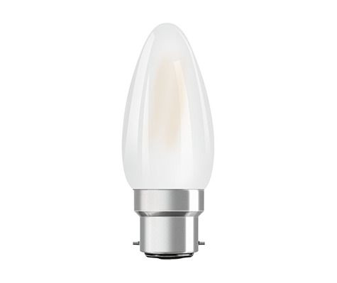 Osram Parathom Retrofit Classic B22d B 4.5W 827 Matt | Dimmable - Replacer for 40W