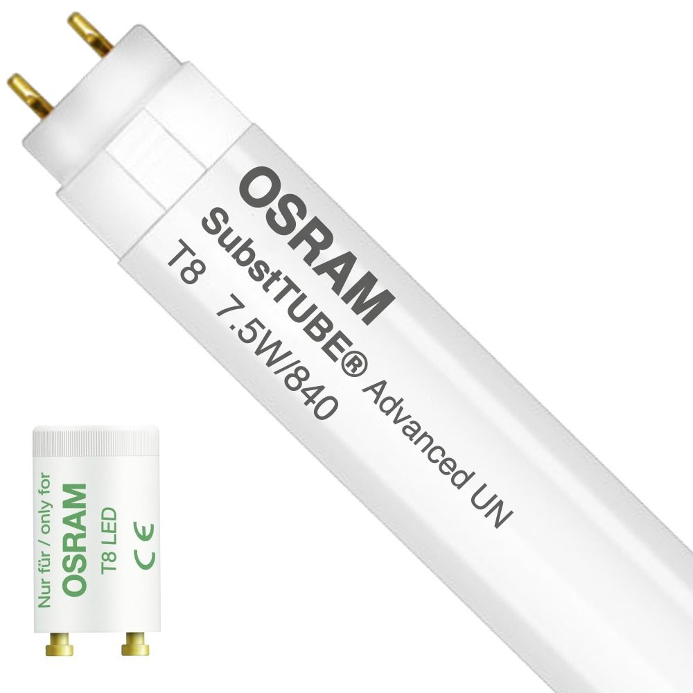 Osram SubstiTUBE Advanced UN 7.5W 840 60cm | Vervangt 18W
