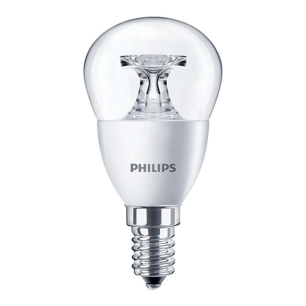 Philips CorePro LEDluster E14 P45 5.5W 827 klar | erstatter 40W