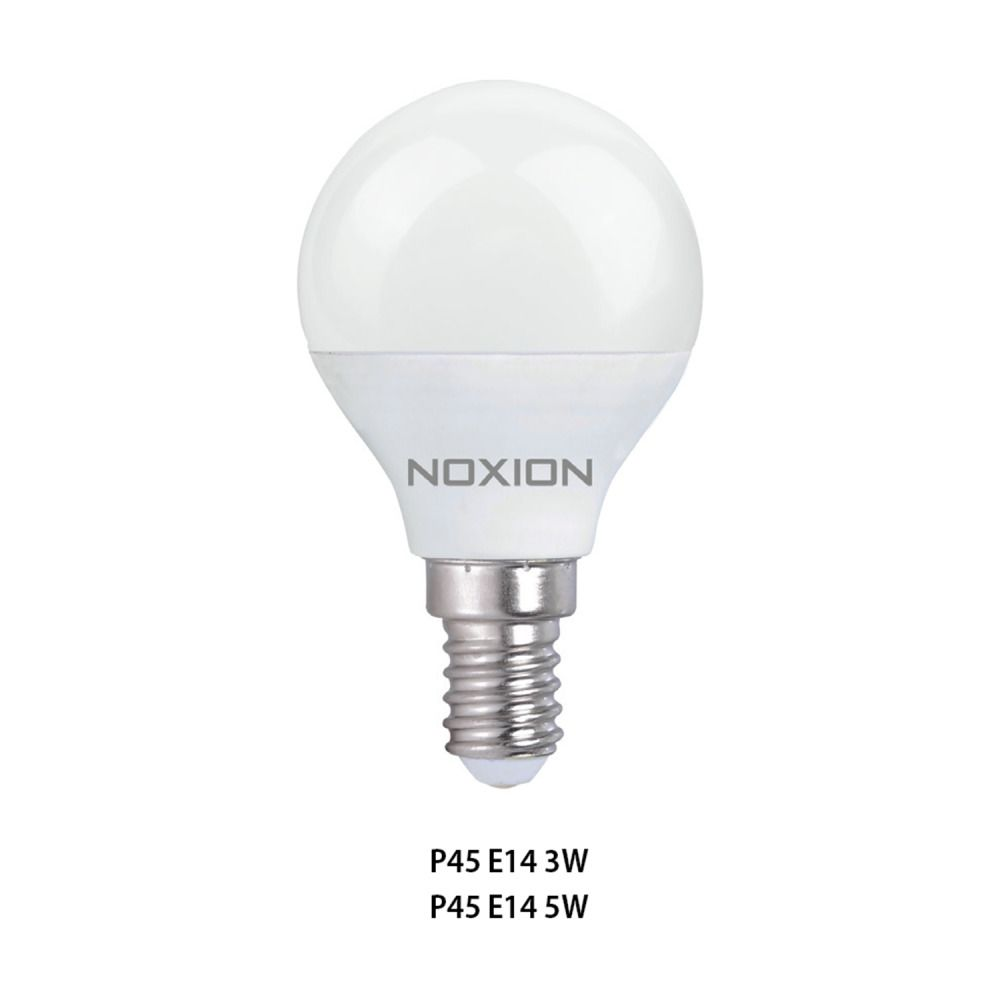 Noxion Lucent LED Classic Lustre 5W 827 P45 E14 | Extra Warm White - Replaces 40W