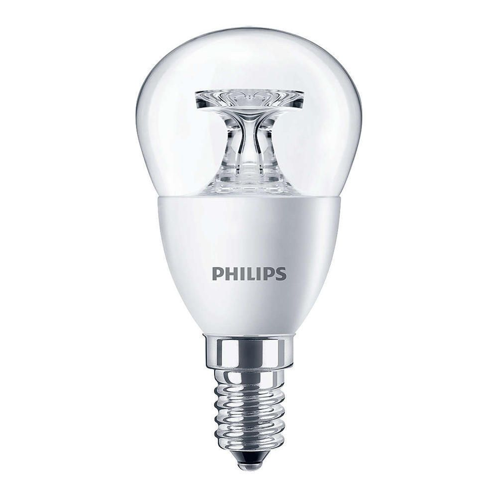 Philips CorePro LEDluster E14 P45 4W 827 Clear | Replaces 25W