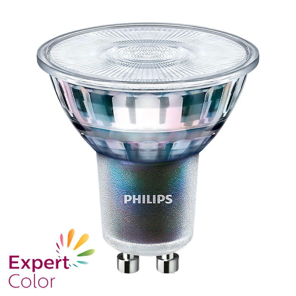 Philips LEDspot ExpertColor GU10 3.9W 940 36D (MASTER) | Beste Farbwiedergabe - Kaltweiß - Dimmbar - Ersetzt 35W