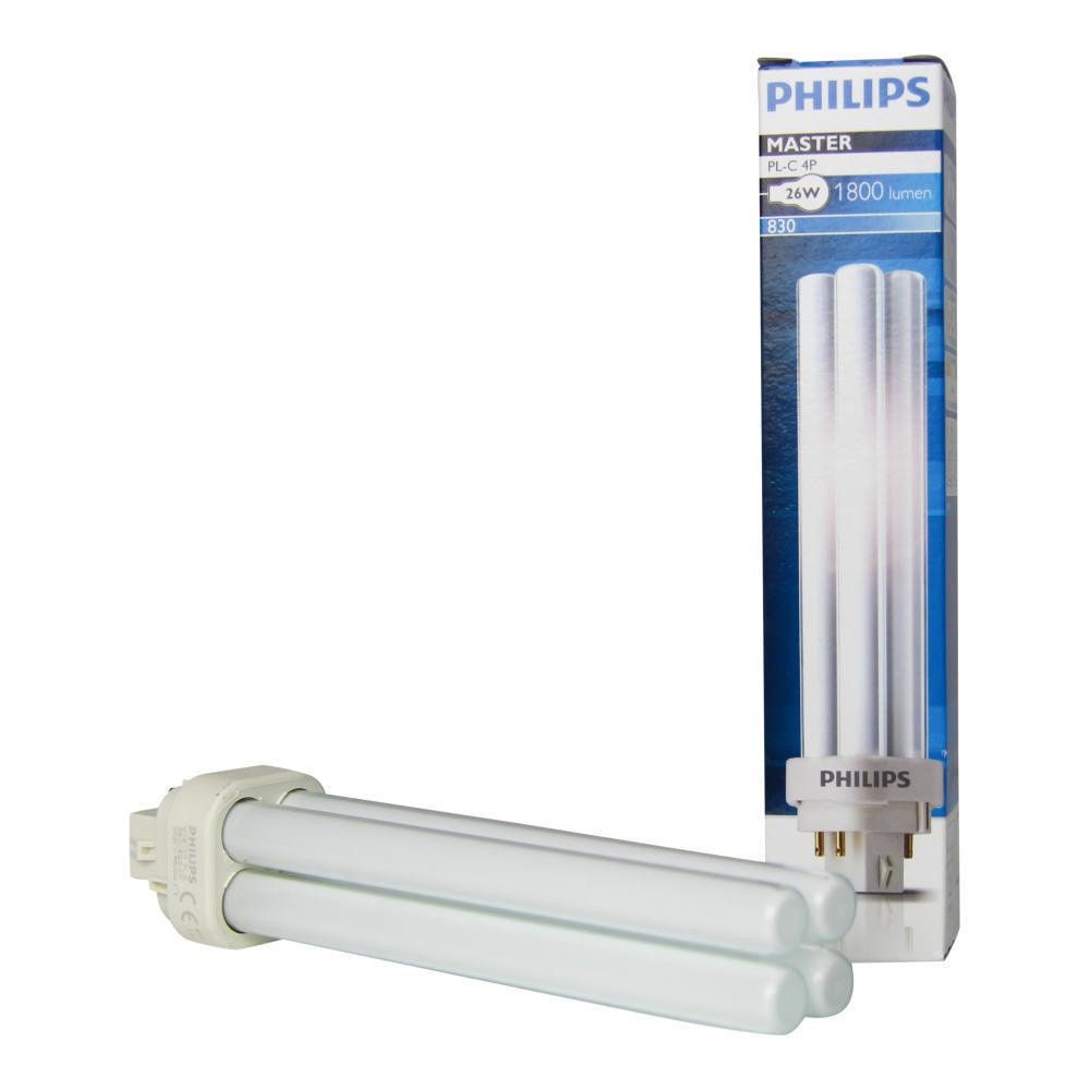 Philips PL-C 26W 830 4P (MASTER) | Warm White - 4-Pin