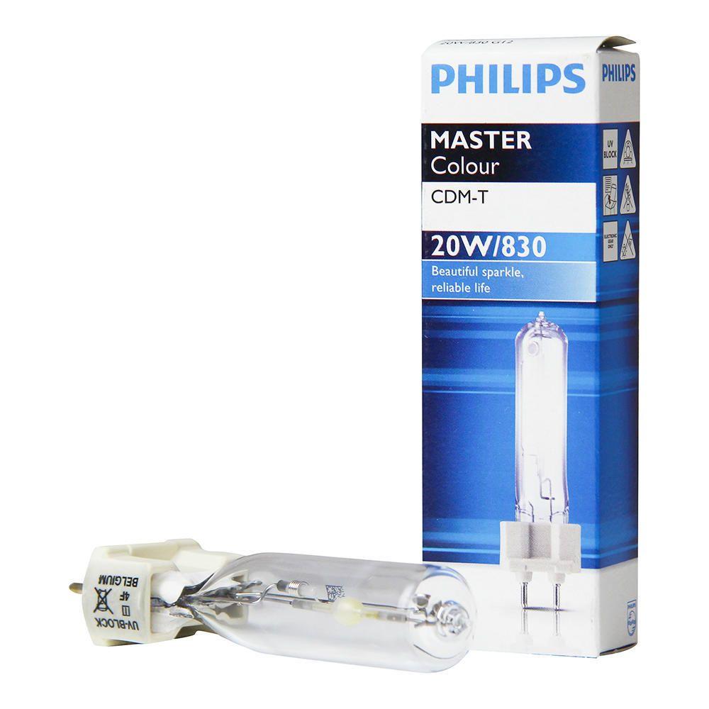 Philips MASTERColour CDM-T 20W 830 G12 | Lämmin Valkoinen