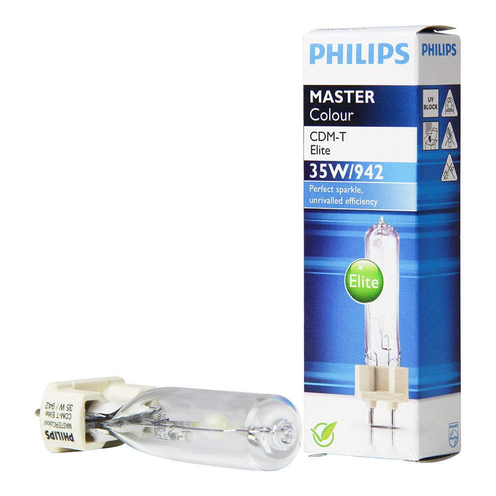 Philips MASTERColour CDM-T Elite 35W 942 G12 | Koel Wit - Beste Kleurweergave