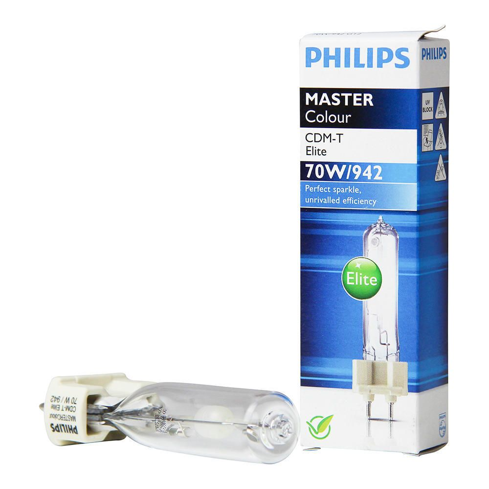 Philips MASTERColour CDM-T Elite 70W 942 G12 | Cool White - Best Colour Rendering