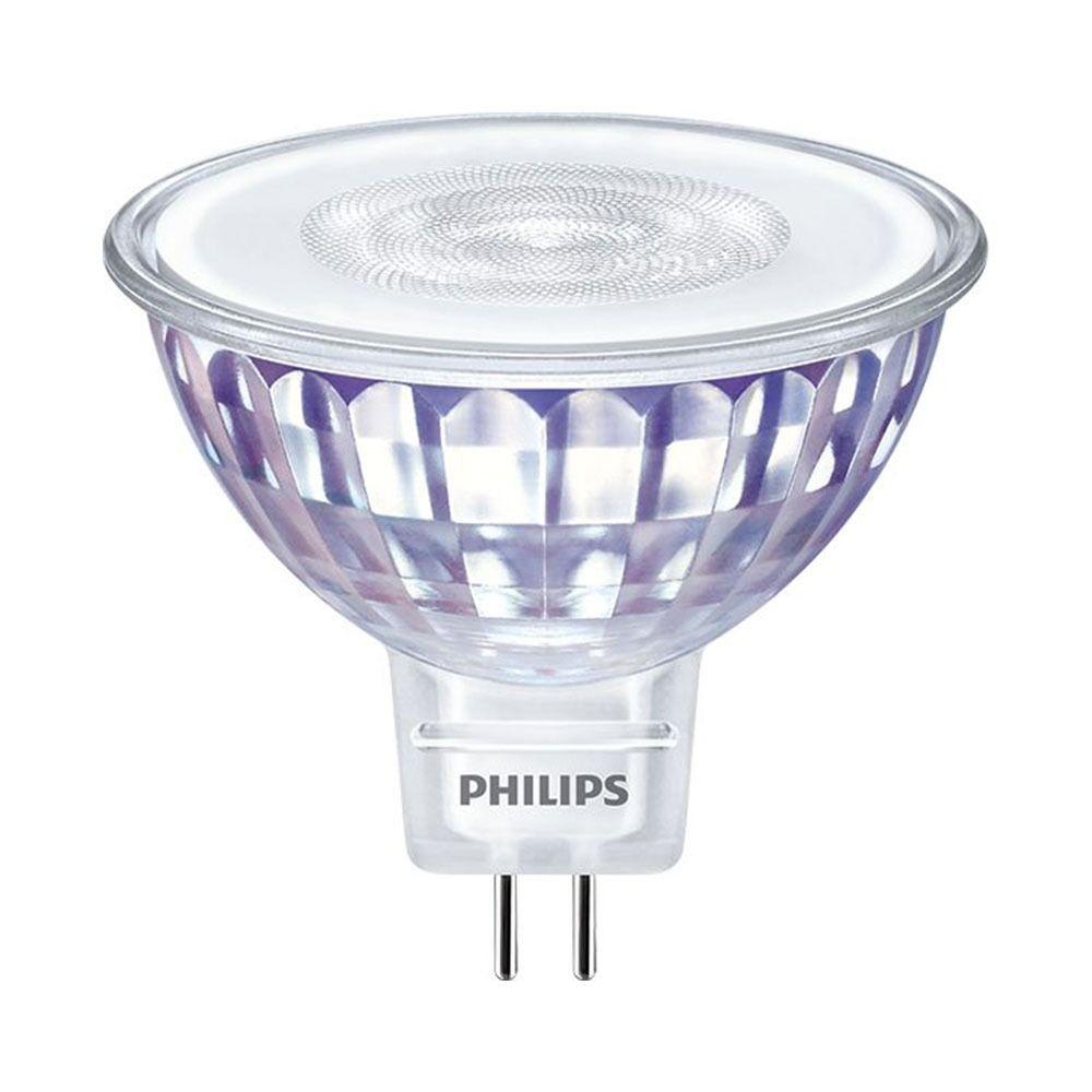 Philips LEDspot LV Value GU5.3 MR16 5.5W 827 60D (MASTER) | Extra Warmweiß - Dimmbar - Ersetzt 35W