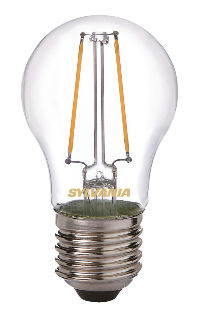 Sylvania ToLEDo Retro Ball E27 2.5W 827 Filament | Extra Warm White - Replaces 25W