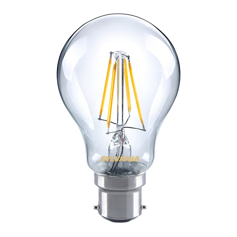 Sylvania ToLEDo Retro B22 A60 Clear 4W | Replaces 35W