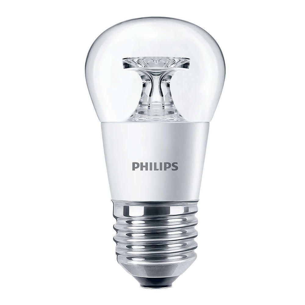 Philips CorePro LEDluster E27 P45 5.5W 827 Clear | Replaces 40W