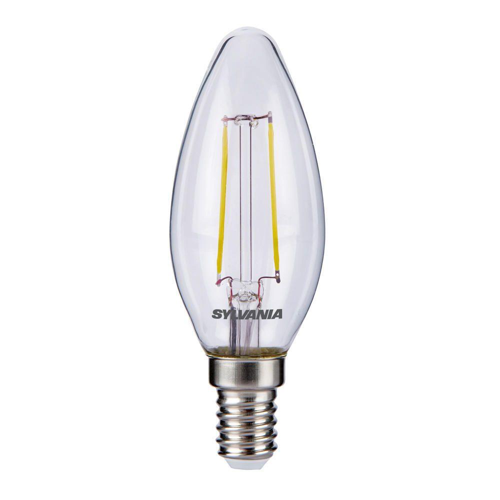 Sylvania ToLEDo Retro Candle E14 Helder 2.5W | Vervangt 25W