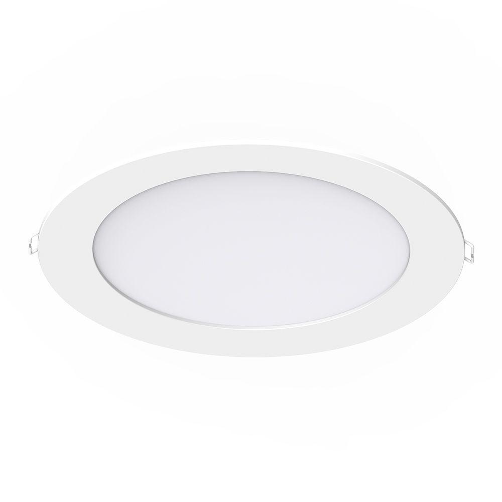 Noxion LEDDownlight SlimV2.0IP44 24W3000K Utskärning   Ø200mm