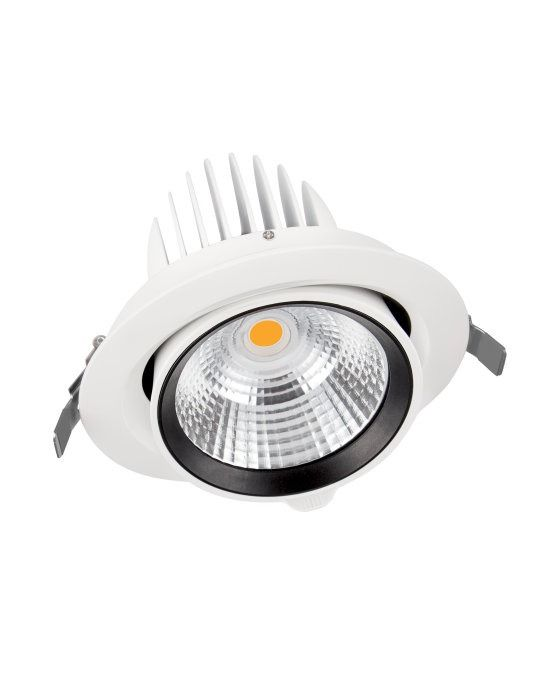 Ledvance LED spot Vario Adjustable IP20 3000K 35W 24D | varm hvit