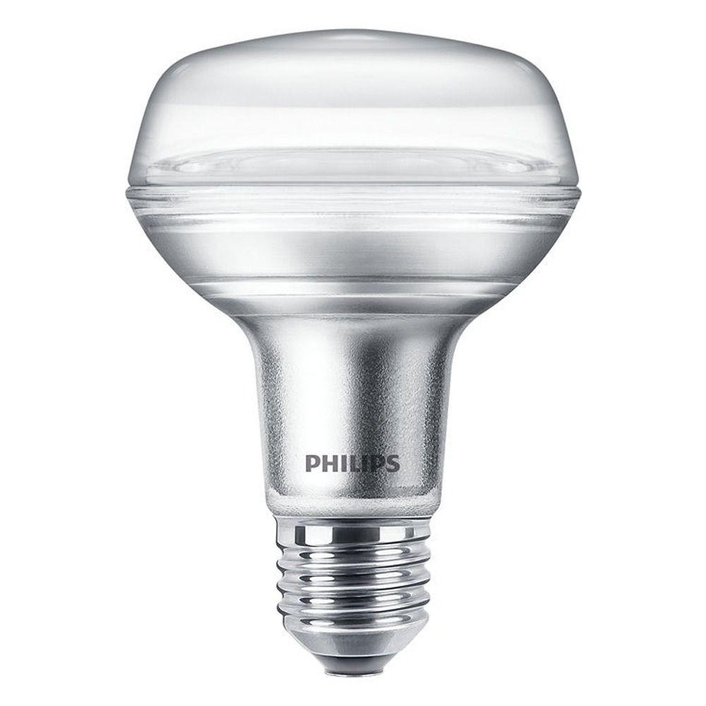 Philips CorePro LEDspot E27 Reflektor R80 8W 827 36D | Extra Varm Vit - Ersättare 100W
