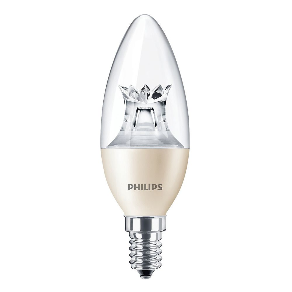 Philips LEDcandle E14 B38 6W 827 (MASTER) | DimTone Dimmable - Replaces 40W
