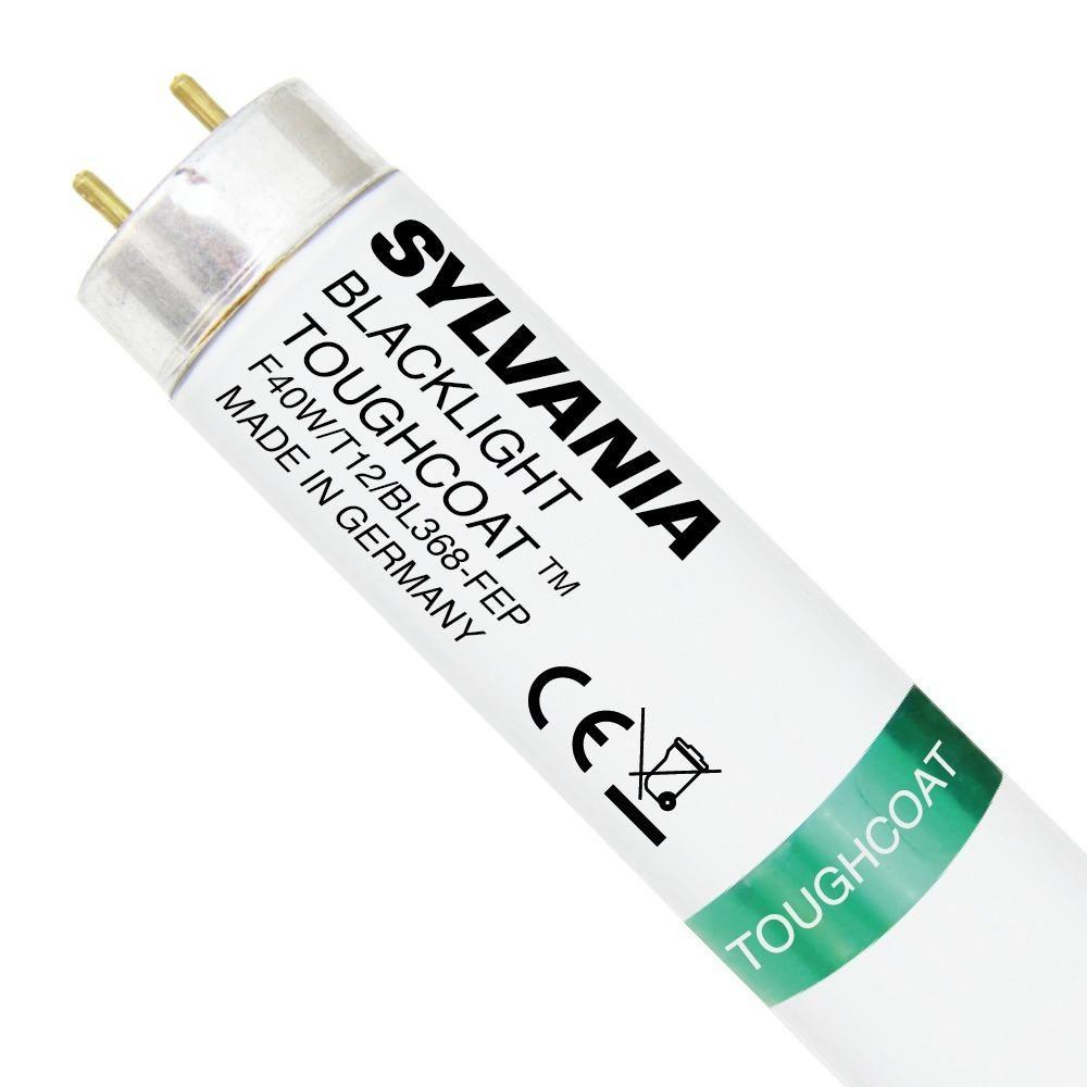 Tubo Sylvania Luz Negra F40W T12 4FT BL368 Capa resistente | 120cm Fluorescente