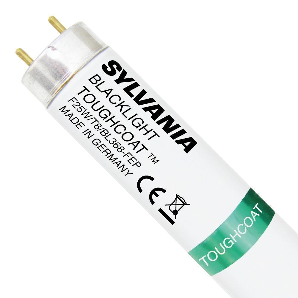 Sylvania Blacklight F25W T8 BL368 Toughcoat | 44cm