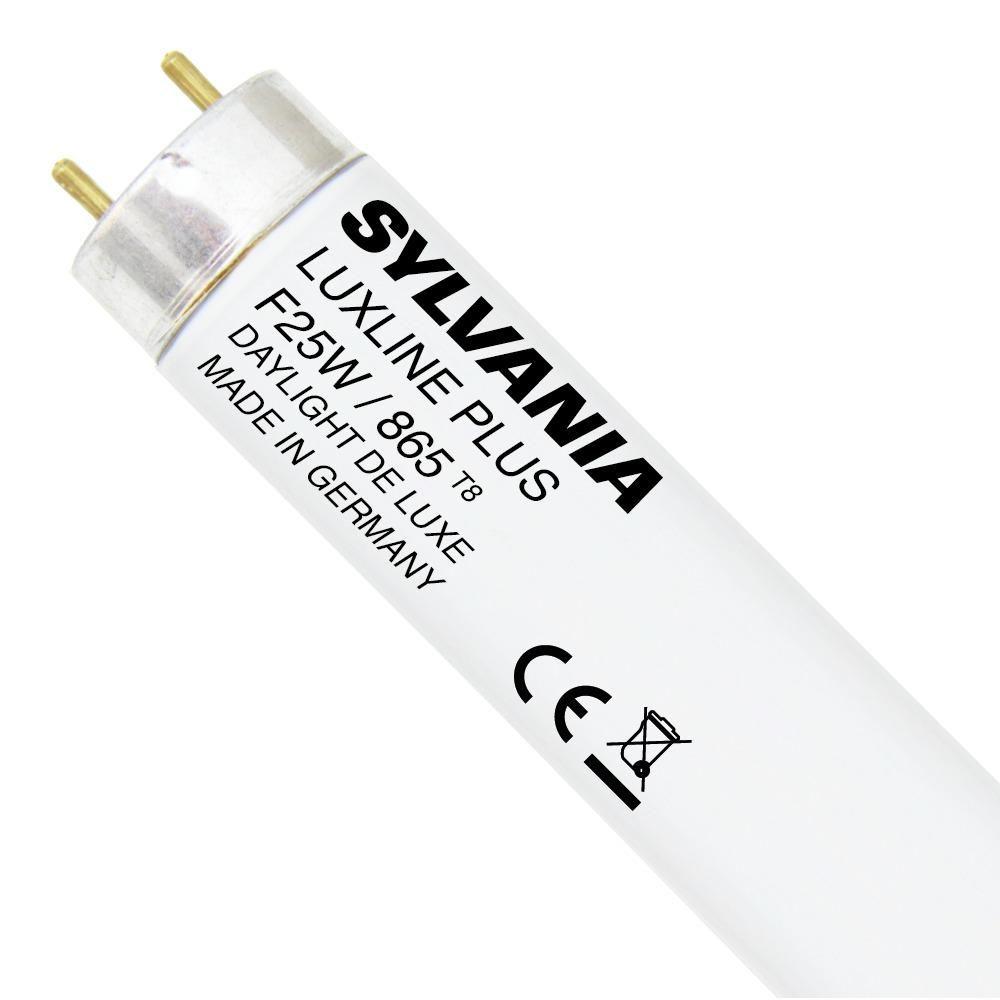 Sylvania T8 Luxline Plus F25W 865 | 83cm - Tageslichtweiß