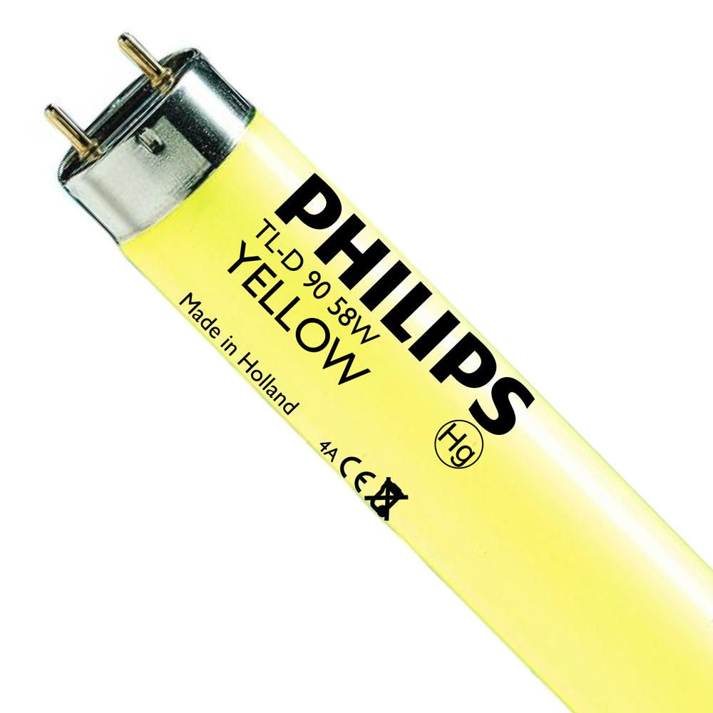 Philips TL-D Colored 58W (MASTER) | 150cm - Keltainen