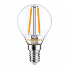 Noxion Lucent LED Lustre E14 2.5W 827 Filament | Dimmable - Extra Warm White - Replaces 25W