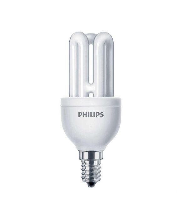 Philips Genie ESaver 8W 827 E14 | Extra Warmweiß