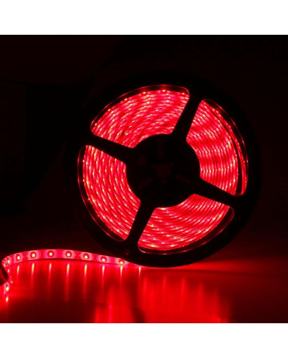 LED Strip 5m 24w Rood