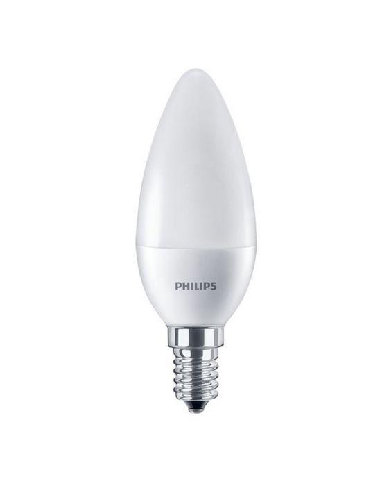 Philips CorePro LEDcandle E14 B38 7W 827 Matt | Ersättare 60W