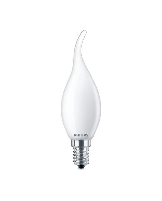 Philips Classic LEDcandle E14 BA35 2.2W 827 Matt | Ersättare 25W